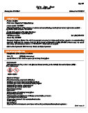 Spec Release Material Data Safety Sheet